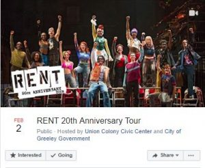RENT 20th Anniversary Tour UCCC